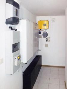 OCS System Speicherung von Solarenergie