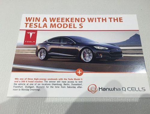 Intersolar 2015 oder was haben ein Tesla S und der Hallesche FC gemeinsam? (#2/2)